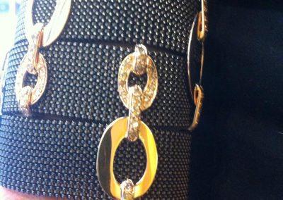 Bracciali#oro#acciaio#levitalisrl#moda#gioielli#catena#designer#donna