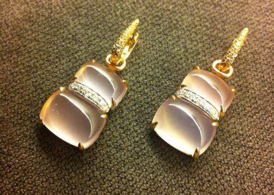 Quarzo rosa #gioielliartigianali#oro#fashion#moda#levitalisrl#designer#diamond#