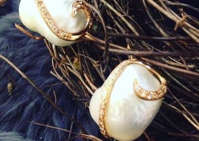 Orecchini#design#gioielli#perle#levitalisrl#roma#fashion#arte