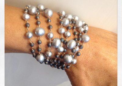 Le Vitali Roma #gioielli#oro #perle #design #bracciali #via dell orso #sorelle